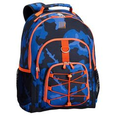 Gear-Up Blue Camo Backpack