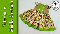 """Vestido Infantil """"Bichinhos da Floresta"""" -18/24 meses"""