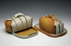 Delores Fortuna - I have a butter dish from Delores very similar to this one which I absolutely LOVE!