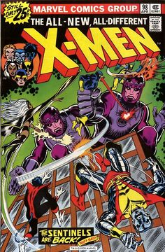 X-MEN #98: Bronze Age Grade 7.0 Chris Claremont & Dave Cockrum - Christmas issue