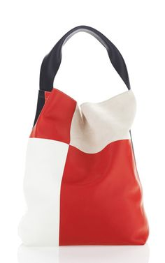 Quad Color Block Bucket Bag by Marni for Preorder on Moda Operandi