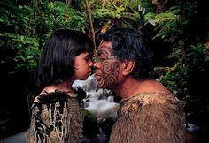 """Maori Greeting /  """"Ta Moko"""" #Beautiful"""