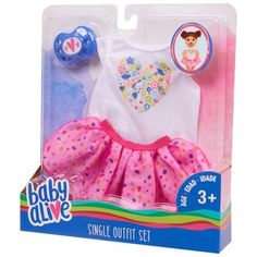 Baby Alive Doll Clothes, Baby Alive Dolls, Baby Dolls For Kids, Cool Toys For Girls, Baby Doll Diaper Bag, 3rd Baby, Baby Baby, Baby Crib, American Girl Doll Sets