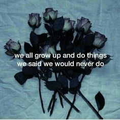 quote, rose, and grunge image