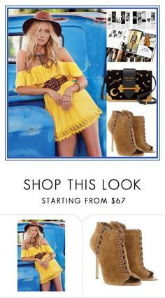 """""""Untitled #1270"""" by esma178 ❤ liked on Polyvore featuring Michael Kors and Prada"""