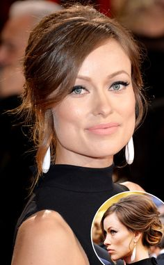 The beauty looks at the 2014 Oscars were all about elegant updos. See Olivia Wilde and more of our faves!
