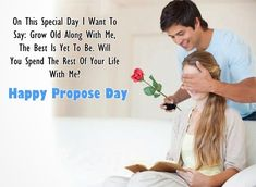 Romantic propose day SMS: Glad recommend Day romantic SMS for him and her: Hi ! Are you searching for the Romantic propose Day SMS Happy Propose Day Wishes, Propose Day Messages, Happy Propose Day Image, Propose Day Images, Marry Me Quotes, Love Quotes For Girlfriend, Boyfriend Quotes, Propose Day Picture, Happy Valentines Day Sms