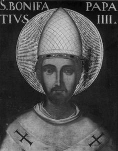 San Bonifacio IV, Papa