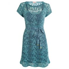 Vestido Crochet Rendado