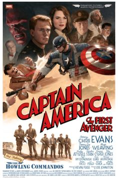 Captain America Movie Poster!