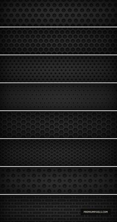 Black Texture speaker hole patterns - There are free Photoshop patterns here for every occasion. From manga patterns to lovely butterflies to professional patterns you may use on a business site. Free Photoshop Patterns, Adobe Photoshop, Motifs Textiles, Textile Patterns, Color Patterns, 3d Texture, Texture Design, Tiles Texture, Graphics