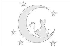 Pumpkin Cutout Templates | 10 Free Pumpkin Stencils for Halloween Cat Lovers! | Pictures of Cats ...