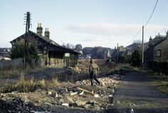 """The derelict Lochee Railway Station in Dundee. Dundee City, Disused Stations, Historical Pictures, Great Britain, Old Photos, Scotland, Scenery, History, Places"