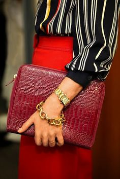 I adore a classic–Cartier tank in yellow gold