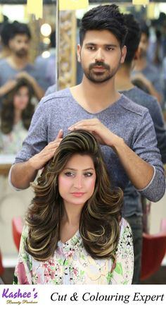 Medium Hair Cuts, Long Hair Cuts, Medium Hair Styles, Long Hair Styles, Bun Hairstyles For Long Hair, Hairstyles Haircuts, Trendy Hairstyles, Pakistani Bridal Hairstyles, Hair Setting