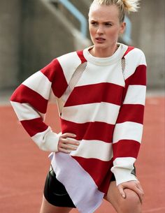 visual optimism; fashion editorials, shows, campaigns & more!: summer camp: anne vyalitsyna by matt jones for elle italia july 2015