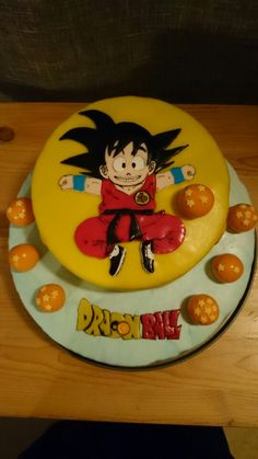 Goku Dragon Ball cake
