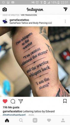 Letras #Tattoosformen