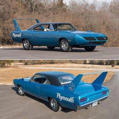 All-Original 1970 Plymouth Superbird Headed to Auction - Cars and motor Plymouth Muscle Cars, Dodge Muscle Cars, Cool Sports Cars, Cool Cars, Chevy, Plymouth Superbird, 70s Cars, Modelos 3d, American Muscle Cars