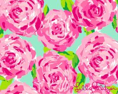 Lilly Pulitzer print- I'm in love with her designs