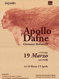 """Cinquew News: A Ragusa mostra di Giovanni Robustelli """"Apollo e D..."""