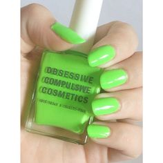 Perfect Deven Green nails by Instagrams: oliviafrescura