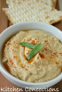 Baba Ganoush is made with roasted eggplant. It was so good at Ya Hala, I bought some at the Farmer's Market with my strawberries.