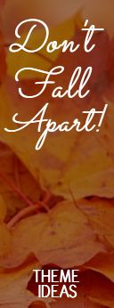 Don't Fall Apart Women's Ministry Theme