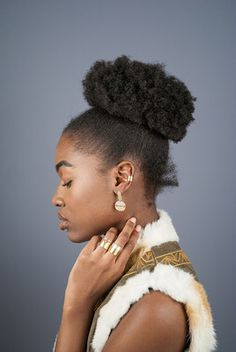 The Modern Tribe Collection - Hian Jewellery - handmade minimal jewelry, ombré tube ring, earcuff