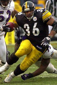 """Jerome """"The Bus"""" Bettis - Pittsburgh Steelers"""