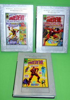 Comics 3 tomos de Marvel Masterworks DAREDEVIL vol 1,2 y 3 Edicion americana
