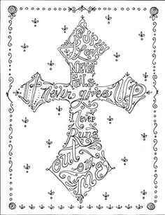 Crosses to Color Inspiring and Beautiful Images to Uplift Your Spirit and Relieve Stress: Deborah Muller