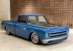 Hot Wheels - Damn Chevrolet is next level, check the front end treatment! 1967 Chevy C10, 67 72 Chevy Truck, Custom Chevy Trucks, C10 Trucks, Classic Chevy Trucks, Old Classic Cars, Chevy Pickups, Pickup Trucks, Vintage Trucks