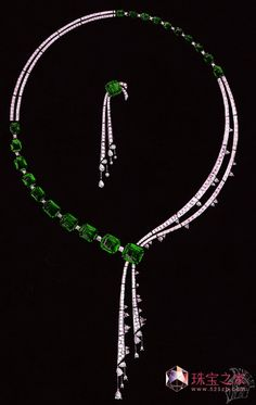 Emerald & Diamond Jewellery Design