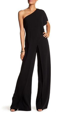03856e61bf19 Issue New York One-Shoulder Ruffled Jumpsuit. Fashion · Jumpsuits