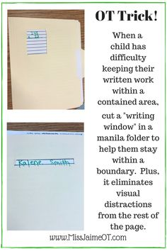 Handwriting strategies to improve spacing, legibility, and size, even in older writers!