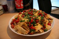 Roasted Chicken Nachos by bump, via Flickr