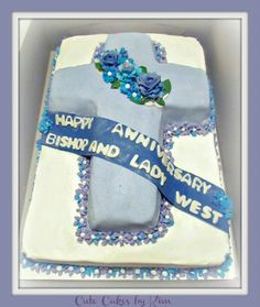 Anniversary Cake For Church