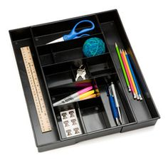 The Container Store > Desk Expand-a-Drawer®