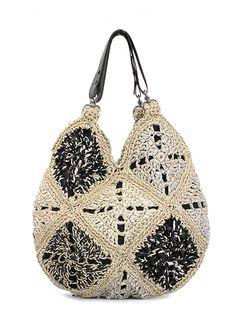 Lorenza Gandaglia crochet bag