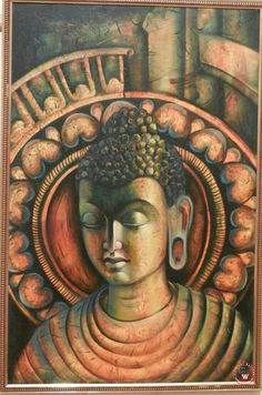 """We live in a time when science is validating what humans have known throughout the ages: that compassion is not a luxury; it is a necessity for our well-being, resilience, and survival. Budha Painting, Oil Painting Abstract, Buddha Zen, Gautama Buddha, Religious Paintings, Coffee Painting, Buddhist Art, Indian Art, Sculpture Art"