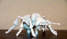 Ant 3D Print in VeroGrey | Objet ... Model by Eric Keller. Print by Electric Geisha www.electricgeisha.com