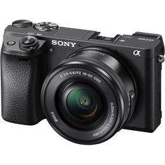 Sony a6300 Alpha Mirrorless Digital Camera with 16-50mm