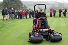 Everything you need to know about the Toro TriFlex mower - a brilliant machine.