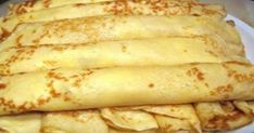Tasty pancakes w/o milk and eggs - can be a vegan diet. Hungarian Desserts, Hungarian Recipes, Russian Recipes, Crepes And Waffles, Tasty Pancakes, Sweets Recipes, Cooking Recipes, Good Food, Yummy Food