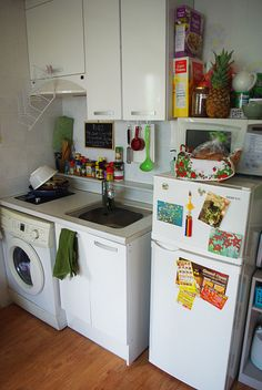 Tiny kitchen. by Shine on Child, via Flickr