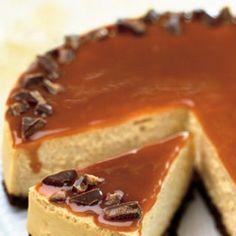 Toffee Crunch Caramel Cheesecake - Cook'n is Fun - Food Recipes, Dessert, Dinner Ideas Caramel Cheesecake, Cheesecake Recipes, Dessert Recipes, Caramel Crunch, Recipes Dinner, Caramel Candy, Cheesecake Company, Honey Crunch, Plain Cheesecake