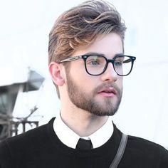 b3343fc50e693 Óculos de grau masculino  32 modelos para se inspirar