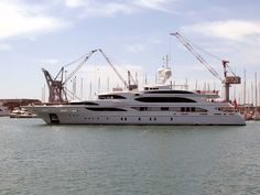 """The 59-meter """"I Dynasty"""" yacht"""