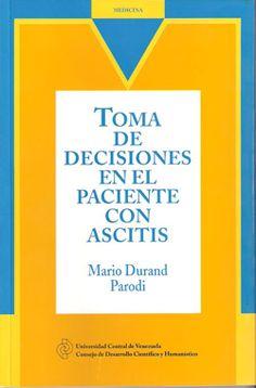 Toma de decisiones en el paciente con ascitis, 2008
